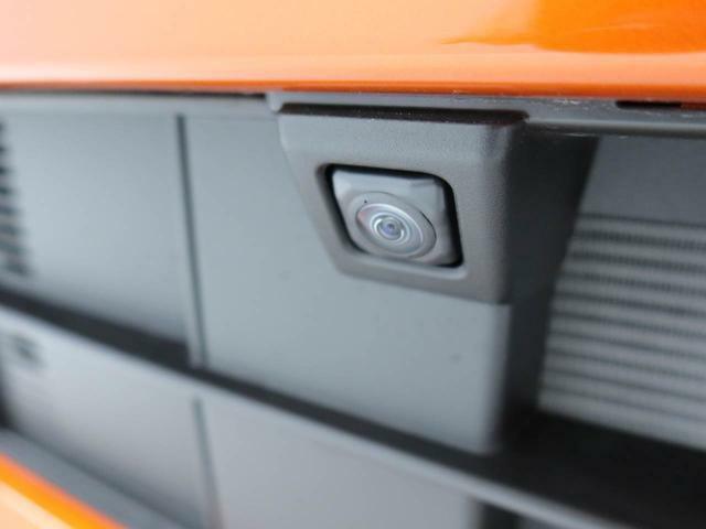 純正ナビを装着して頂くと、左右ドアミラー下部・フロント・バックカメラを利用した様々な角度からの映像を映し出します。