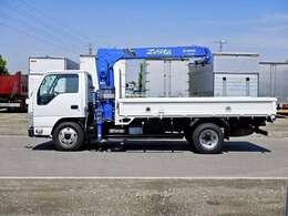 車両総重量5515kg 最大積載量2000kg