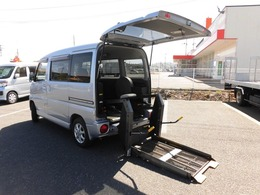 三菱 タウンボックス 車椅子移動車4WD キーレス エアコン PW パワステ