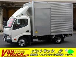 トヨタ トヨエース 10尺 アルミバン 積載2000kg サイドドア 全低床