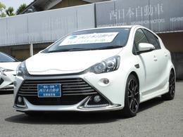トヨタ アクア 1.5 G G's LEDビーム・前席シートヒーター