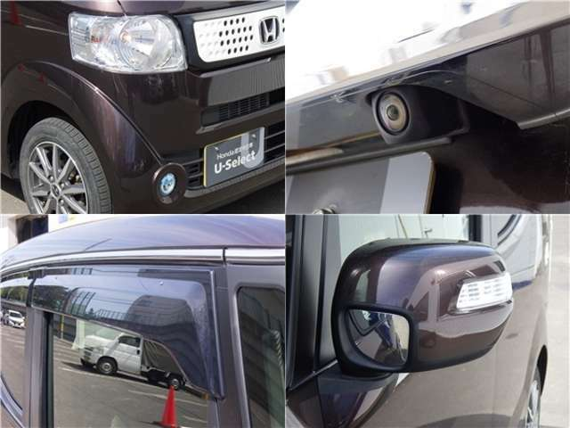 リアカメラ装備です!目視では確認できない車のすぐ後ろの様子が分かるので、より安心してバック駐車ができます◎