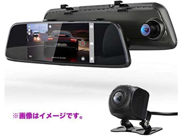 Bプラン画像:1080P高画質録画、ループ録画、Gセンサー、動体検知、駐車監視