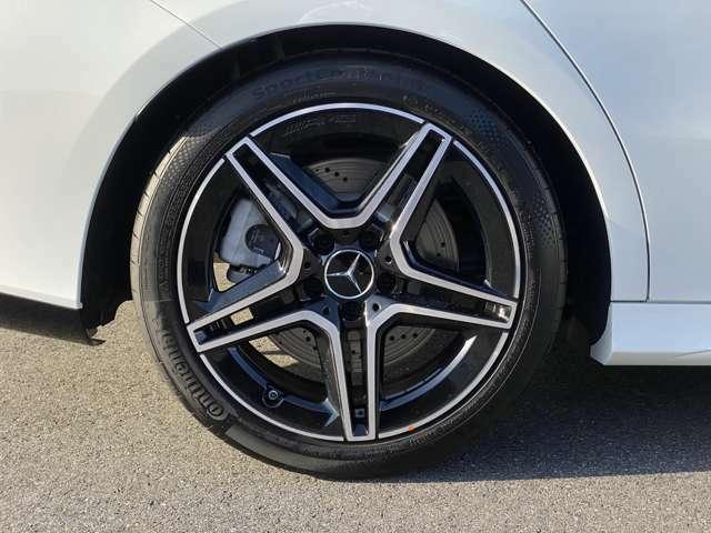 18インチAMG5ツインスポークアルミホイール(Mercedes-AMG専用)
