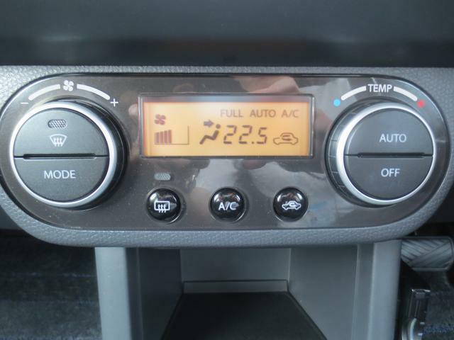 オートエアコン付き☆温度設定をすれば、自動で車内の温度管理をしてくれる快適装備です♪