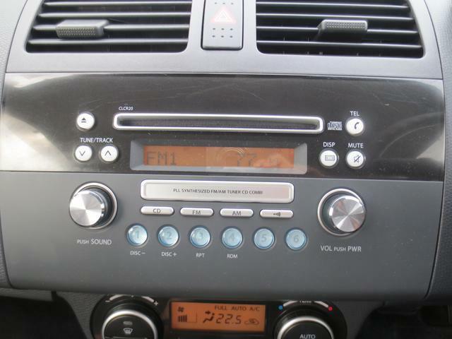 インパネ一体型オーディオ☆お好きな音楽やラジオを聴きながらドライブをお楽しみ下さい♪