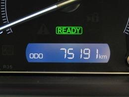 走行距離はおよそ75,000kmです。