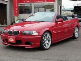 BMW 3シリーズカブリオレ 330Ci Mスポーツ 電動オープンルーフ 19AW ローダウン