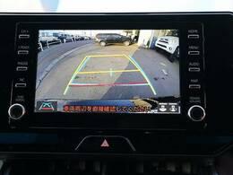 フルカラーバックビューモニター搭載しています。駐車時も安心安全です。