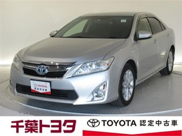トヨタ カムリハイブリッド 2.5 Gパッケージ フルセグHDDナビ・ETC・ドラレコ付き