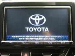 【純正9型ナビ】!bluetoothやフルセグTVの視聴も可能です☆高性能&多機能ナビでドライブも快適ですよ☆