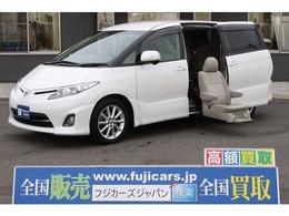 トヨタ エスティマ 2.4 アエラス サイドリフトアップシート装着車 7人乗り 純正ナビ バックカメラ ETC