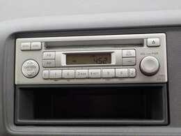 CD、FMチューナー付きです。