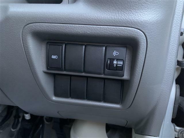 ボタンひとつで4WDと2WDが切り替えられます!