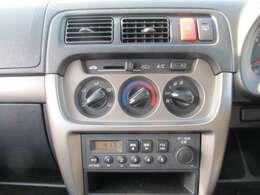 真夏も安心!!エアコン装着。AM/FMラジオオーディオ装着