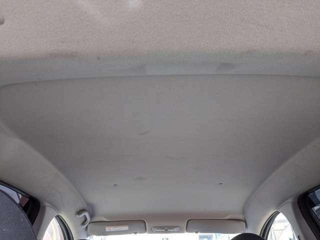 天井は多少のシミ、汚れありますが全体的には奇麗だと思います。