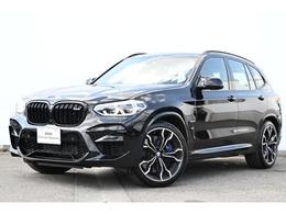 BMW X3 M コンペティション 4WD 黒革アクティブベンチレーションシートACC