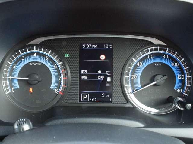【アドバンスドドライブアシストディスプレイ】カラフルで見やすい4.2インチディスプレイを採用!!様々な車両情報にすばやくアクセス可能です♪