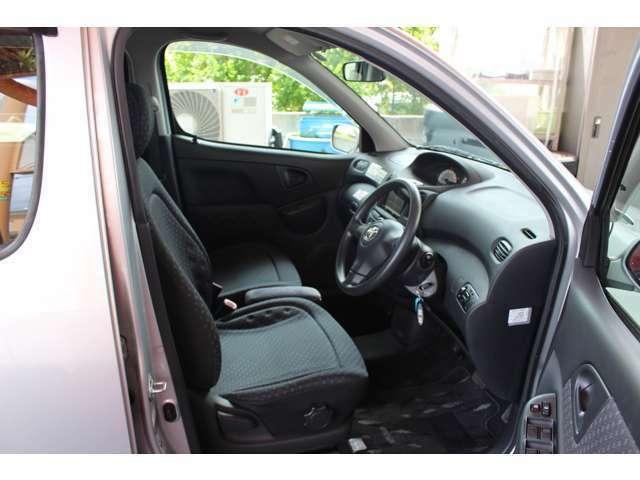 大きなフロントガラスで運転席からの視界も良好♪