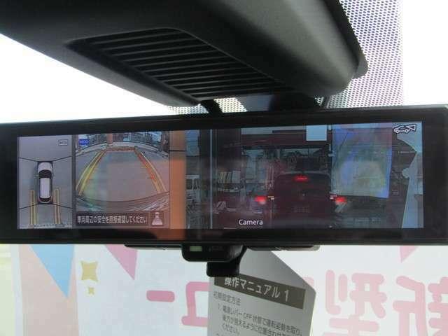 全周位バックカメラ付き☆駐車の際助かるアイテムです☆