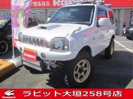 スズキ ジムニー 660 XL 4WD 外足回り(タニグチ)・HKSマフラー・ナビ