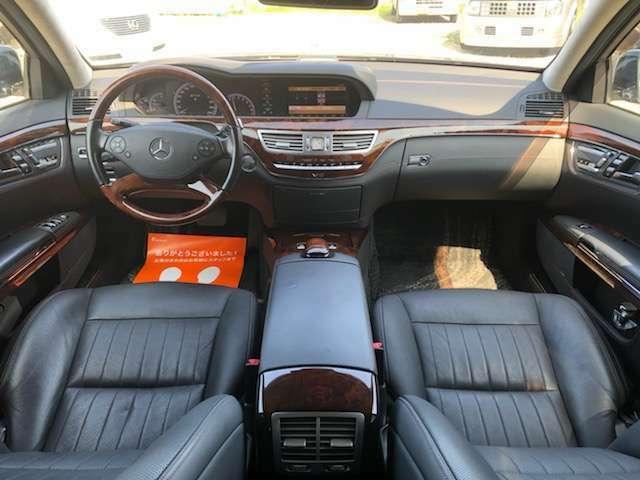 専用装備が多数備わり、S600ロングならではの高級感漂う室内空間。マジックボディコントロール&ツインターボで心地よいドライブをお楽しみください。