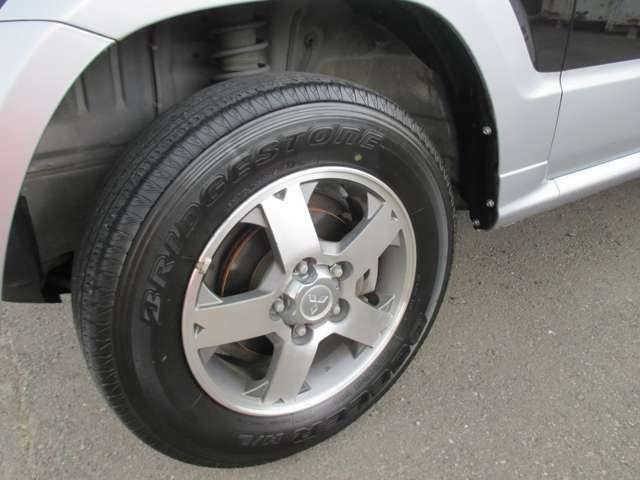 タイヤの溝もしっかりあります!