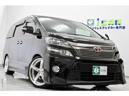 トヨタ ヴェルファイア 3.5 Z Gエディション 4WD 8型HDDナビ 黒革 新品サス/タイヤ/20AW