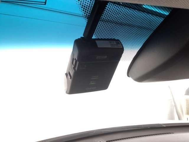 ドライブレコーダー付きで、万が一の場合でも安心です。