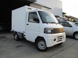 三菱 ミニキャブトラック 660 Vタイプ エアコン付 冷凍冷蔵 5速MT車 左スラD 積載300キロ