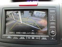 リアカメラ付き、駐車時に安心です!