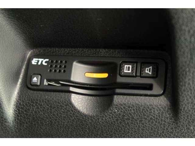 ETC車載器搭載で高速道路の料金所もスイスイ通過♪