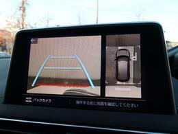 ●360度カメラ:不安な駐車もこれで安心!レーンアシスト付きなので狭い箇所での駐車もラクラクです!