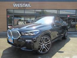 BMW X6 xドライブ35d Mスポーツ ディーゼルターボ 4WD 新型 マイルドハイブリッド 1オナ ナビ