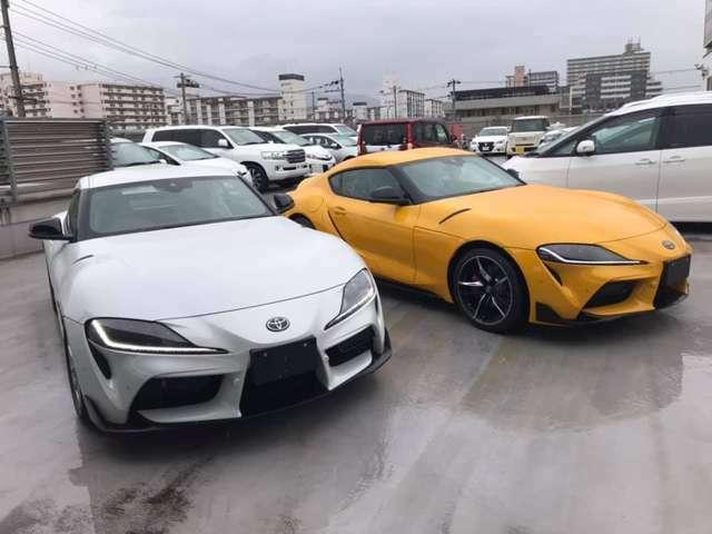 新車ECUチューンコンプリートスープラSZ入庫SZ-R&RZ残り2台も早めの御納車できる車ございます各グレード早めに御納車できる車あります本気の方ご相談ください