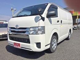 トヨタ ハイエースバン 保冷車 ナビTV バックカメラ ETC キーレス TECS