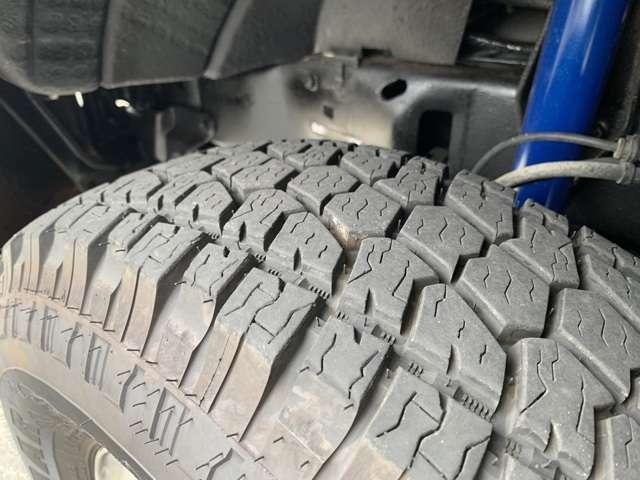 タイヤは前後共に国内で交換済です