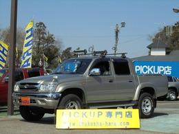 トヨタ ハイラックス スポーツピックアップ 2.7 ダブルキャブ ワイドボディ 4WD 荷台ライナー加工 リアステップバンパー