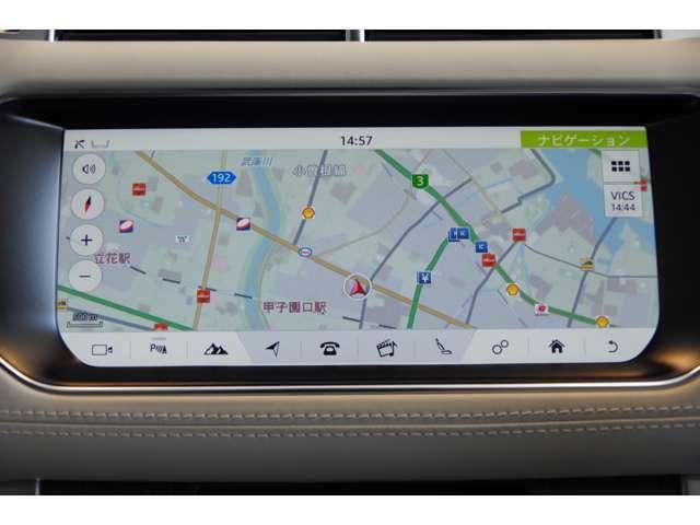 『InControl Touch Pro』ドイツ車のような独特な操作方法ではなくタッチパネル方式を採用。画像も精細なグラフィックで直感的な操作が可能です♪