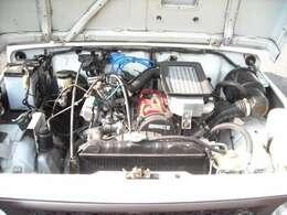 11.3万K時エンジンオーバーホール済、機関良好、圧縮圧力測定済、TベルトWポンプ交換、
