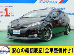 トヨタ ウィッシュ 1.8 S 禁煙車HDDナビFセグBカメスマートキー