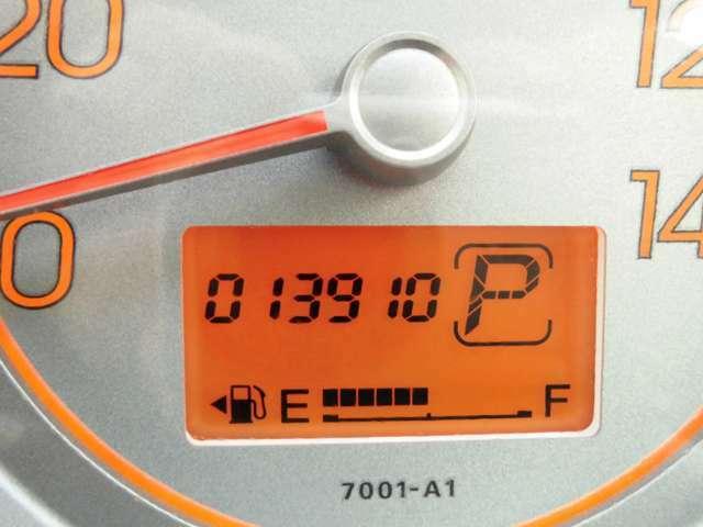 走行距離13000キロ台のお車です。