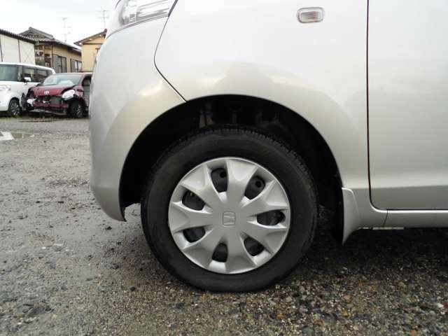 新品タイヤ、バッテリーに交換するプランもございます。ご相談ください。