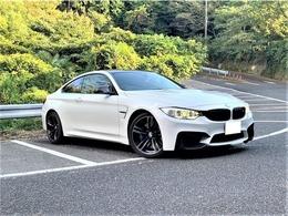 BMW M4クーペ M DCT ドライブロジック アダプティブMサス ハーマンカードン