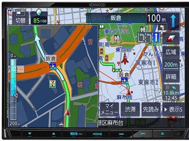 Aプラン画像:ワンセグTV付ナビ!Bluetooth機能付き!