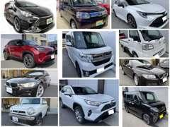 【豊富な販売実績!】軽トラ、軽自動車、ファミリーカー、SUVまで幅広い車種の取扱いが可能です★