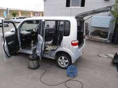 整備&洗車後、キレイな状態で納車致します!