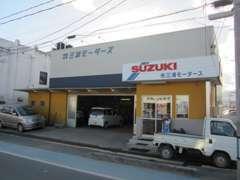 東浜通り沿いに本社がございます。