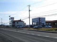 R39を北見から美幌町内へ入る美禽橋手前右側の風景