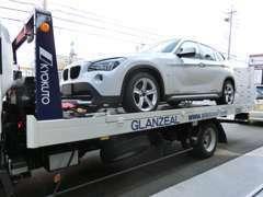 積載車による全国納車も可能です。遠方の方のお問い合わせもお待ちしております。